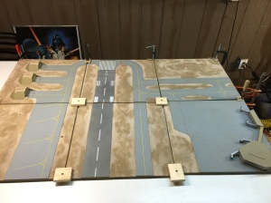 Boards Clamped Down